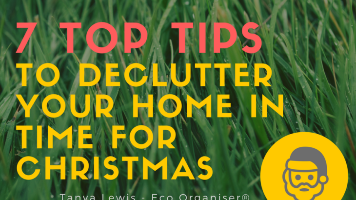Declutter tips for christmas